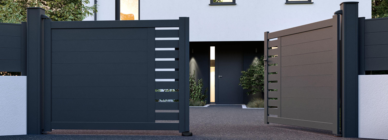 Portails, clôtures et garde-corps Côté portail