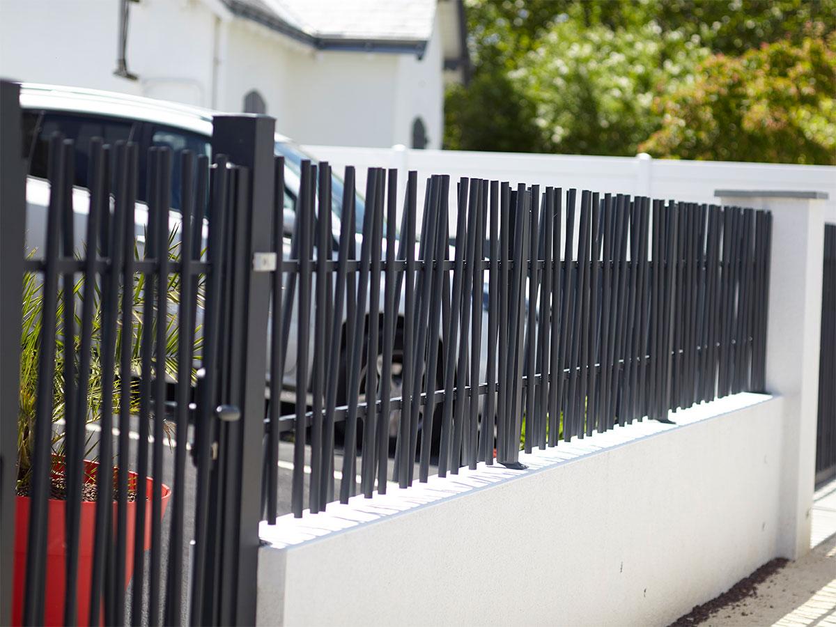Clôtures aluminium Coté portail gamme tradition