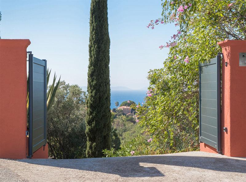 Les garanties du thermolaquage côté portail