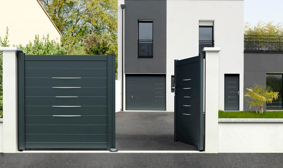 Les garanties pour les produits en aluminium côté portail