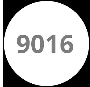 Blanc - RAL 9016