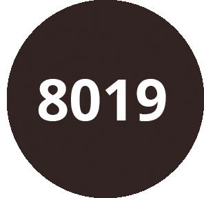 Brun gris - RAL 8019