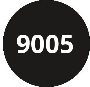 Noir foncé - RAL 9005