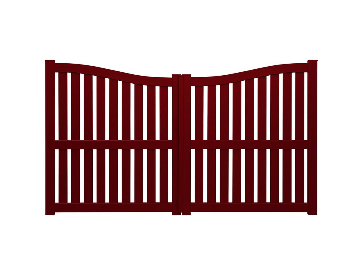 Portail aluminium Argan Côté portail